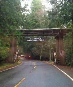 Mt Rainier Park Entrance